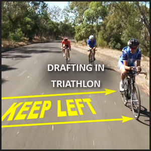 Paul Newport Video Productions of Drafting in Triathlon